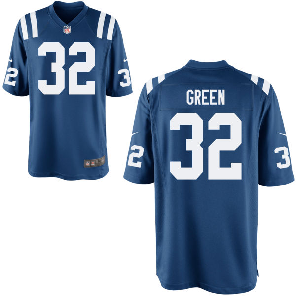 T.j. Green Youth Nike Indianapolis Colts Limited Green Royal Jersey