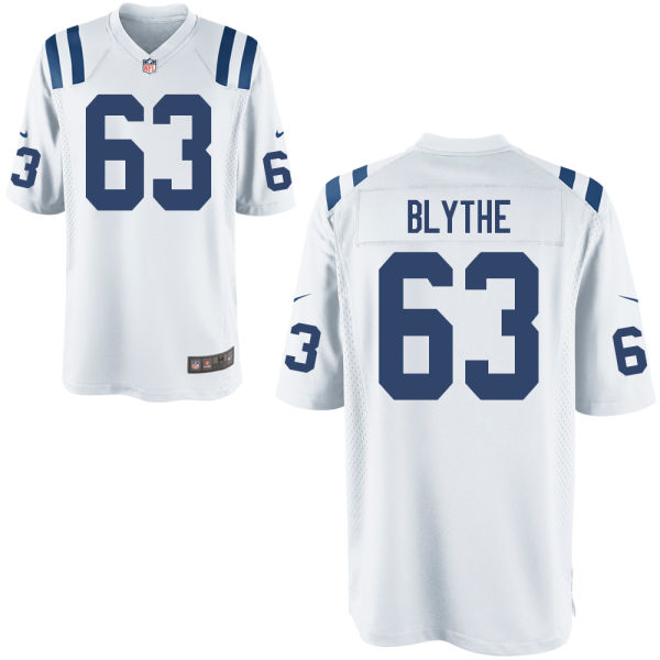 Austin Blythe Youth Nike Indianapolis Colts Game White Jersey