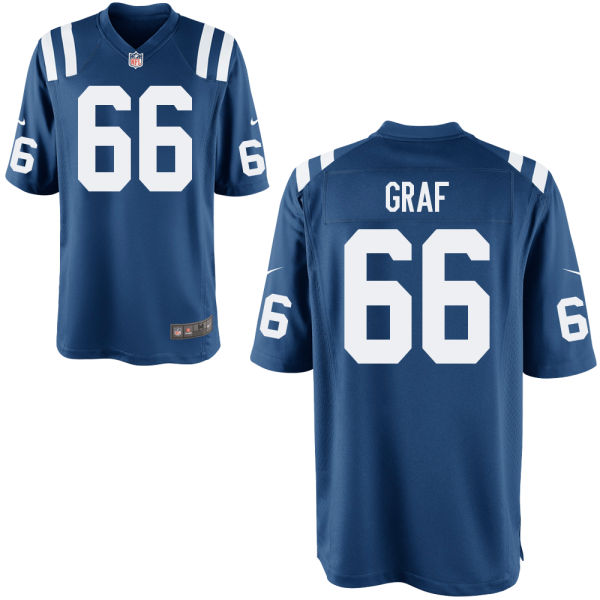 Kevin Graf Nike Indianapolis Colts Limited Royal Jersey